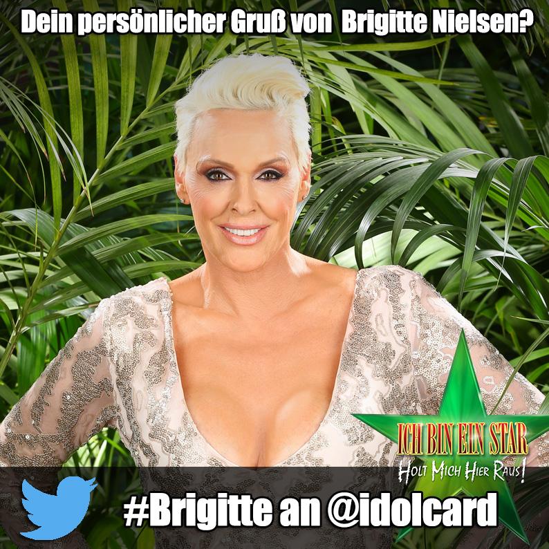Digitale Autogrammkarte Brigitte Nielson (idolCARD)