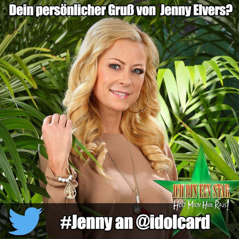 Jenny Elvers Autogramm