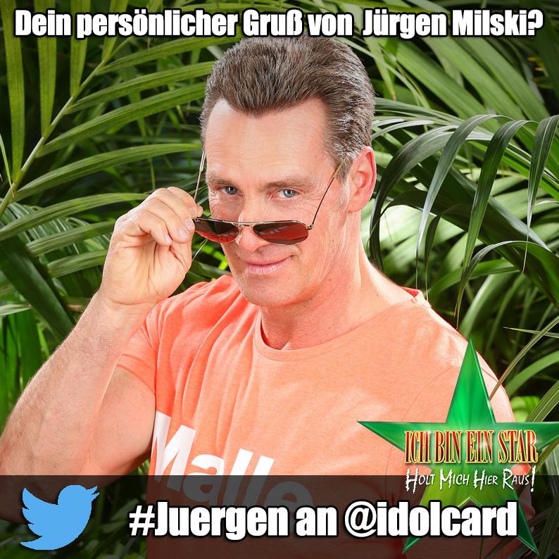 Digitlae Autogrammkarte Jürgen Milski